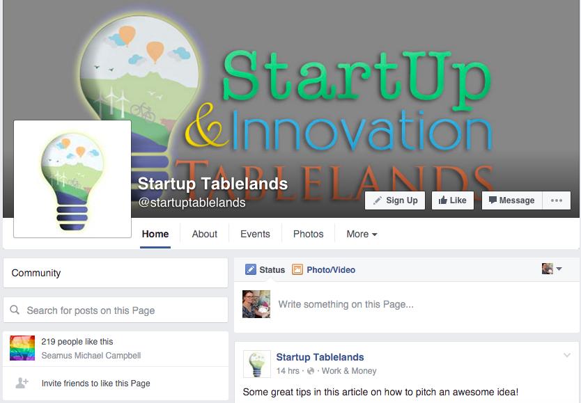 Logo reDesign for StartUp Tablelands